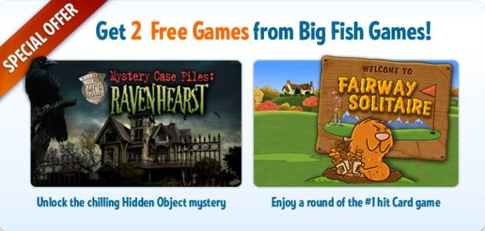 FREE – Two Big Fish Games For Download