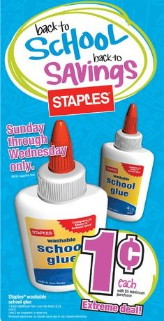 Staples 1c Extreme Deal – Plus Sneak Peek At 7/18 Weekly Ad