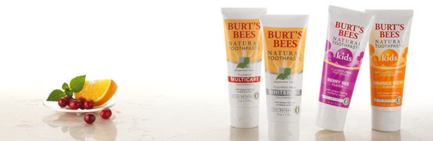 FREE Sample Of Burt Bees Natural Toothpaste!