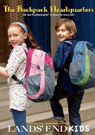 Lands' End $5 Off Select Backpacks & Lunch Boxes – Free Shipping!