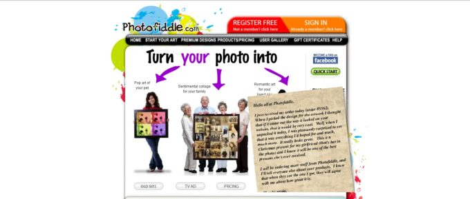 Heartfelt Mother's Day Gift! Photofiddle Review, Coupon, & Giveaway!
