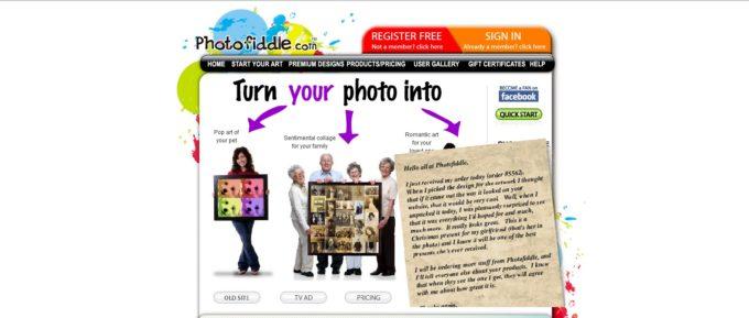 Photofiddle -Previous Sponsor