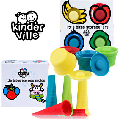 40% Off Kinderville Ice Pop Molds & Storage Jars!