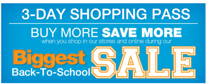 Kohl's Biggest Back-to-School Sale Starting Today!