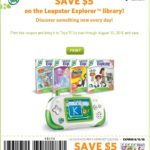 """Toys """"R"""" Us Exclusive $5 Off  Any Leapster Explorer Game!"""