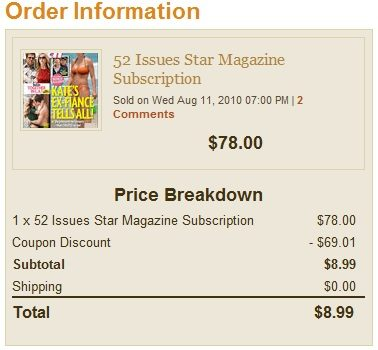 Star Magazine For Just $8.99!