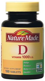 Vitamin D And The Nature Made Instant Win Game -Free Sample!