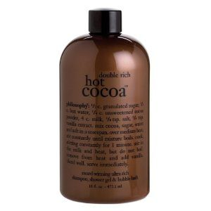 Philosophy Double Rich Hot Cocoa Shower Gel ONLY $3!