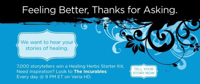 Free Healing Herb Starter Kits!