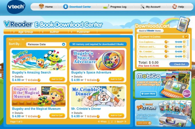VTech's Learning Lodge Navigator Now Available