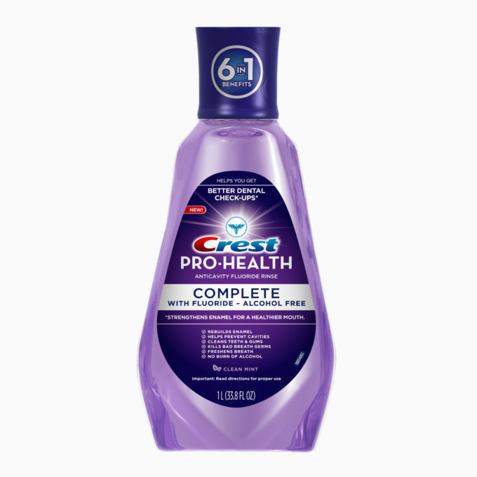 Crest Pro-Health Complete Rinse Update