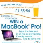 Tropicana Juicy Rewards – Win a 13″ MacBookR Pro
