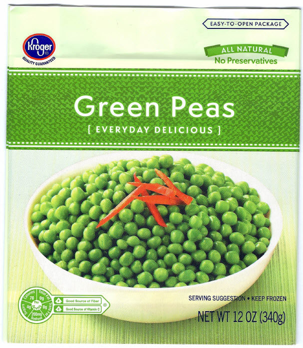 Pictsweet Company Recalls Frozen Green Peas