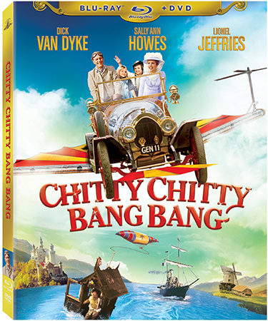 Chitty Chitty Bang Bang on Blu-ray Review – A Family Classic Brought Back To Life!