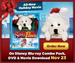 THE SEARCH FOR SANTA PAWS on Blu-ray & DVD Giveaway!