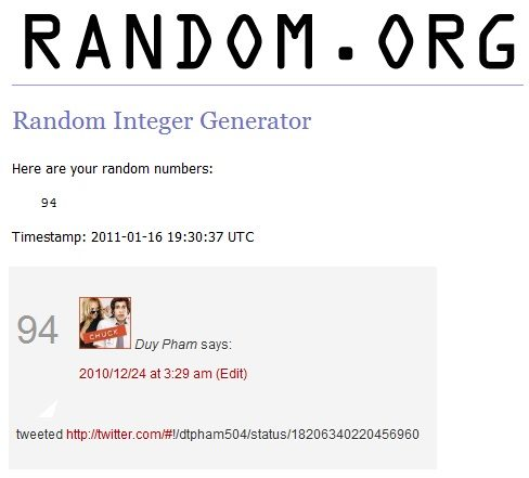 DESPICABLE ME Giveaway Winners!