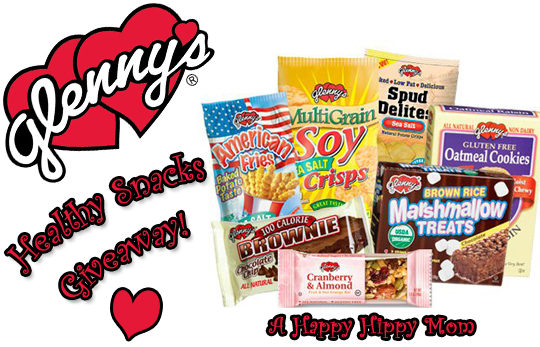 Glenny's Healthy Snacks Review & Giveaway ($49.99 retail value)!