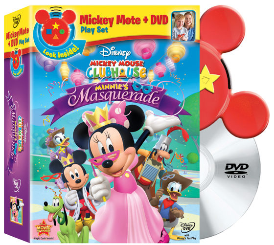 MMCH Minnie's Masquerade DVD & Mickey Mote Review And Giveaway!