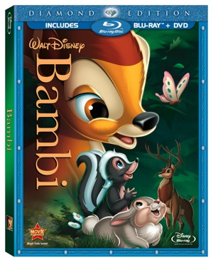 FREE Walt Disney Bambi Diamond Edition Activity Sheets! Watch the Trailer Here!