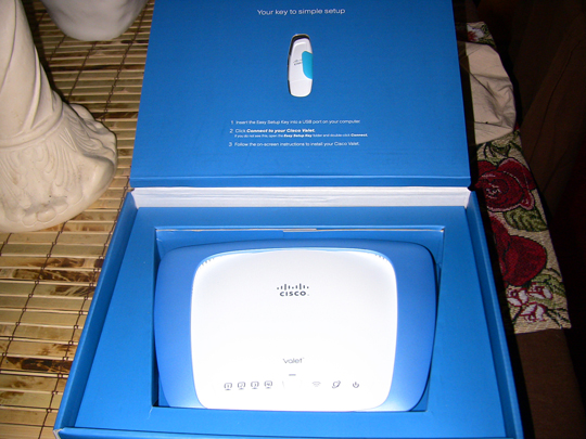 Cisco Valet Box