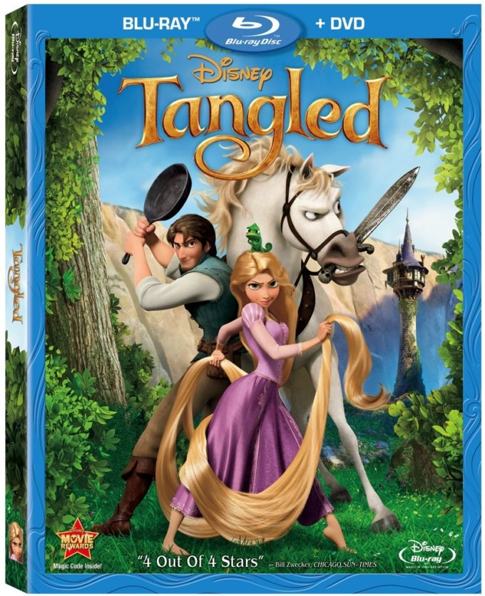 FREE TANGLED Activities & Clips!