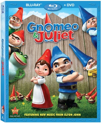 Gnomeo & Juliet arrives on DVD, Blu-ray and Blu-ray 3D May 24th!