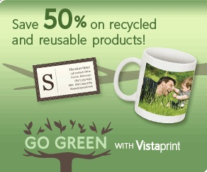 Vistaprint save 50% off eco friendly products from vistaprint a happy,Vistaprint Invitations 50 Off
