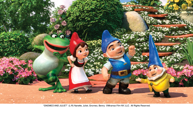 gnomeo juliet q a interviews with elton john emily blunt more