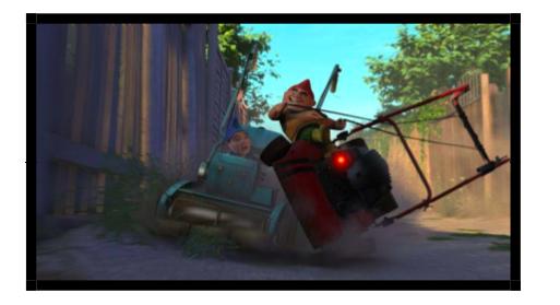 GNOMEO & JULIET   'Mow-down Showdown' on Saturday, May 21