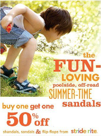 Stride Rite- Buy One Get One 50% Off Sale