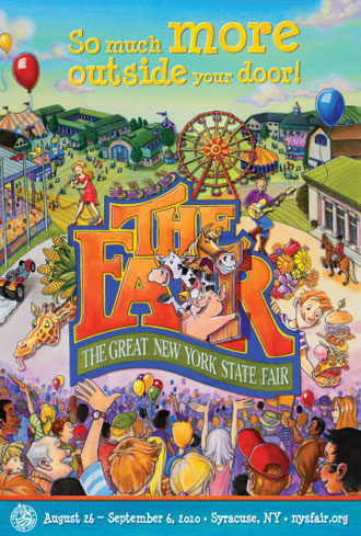 The Great New York State Fair Chevy Court and State Fair Grandstand Concerts!