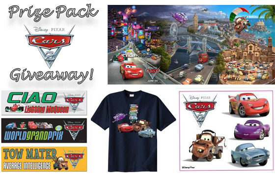 Rev Your Engines -Cars 2 Free Activity Pack and Giveaway!