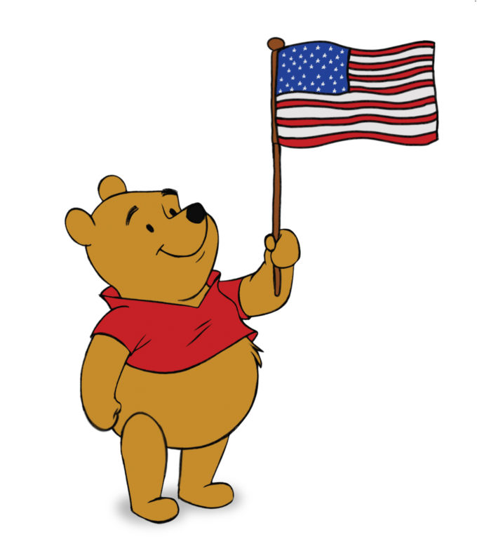 Happy Independence Day From WINNIE THE POOH! Free Activity Pack!