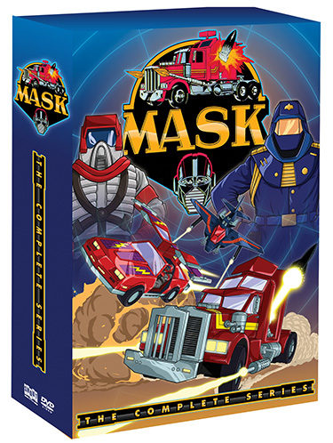 M.A.S.K.: THE COMPLETE ORIGINAL SERIES – ON DVD AUGUST 9!