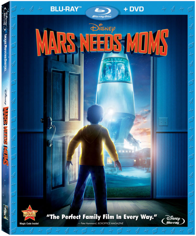 Disney's Mars Needs Moms Blu-ray DVD Combo Review!