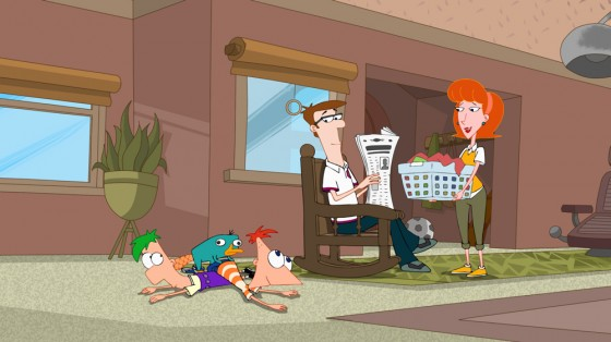 Phineas And Ferb Family Room