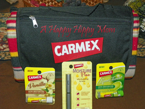 Carmex Lip Balm Review & Prize Pack Giveaway!