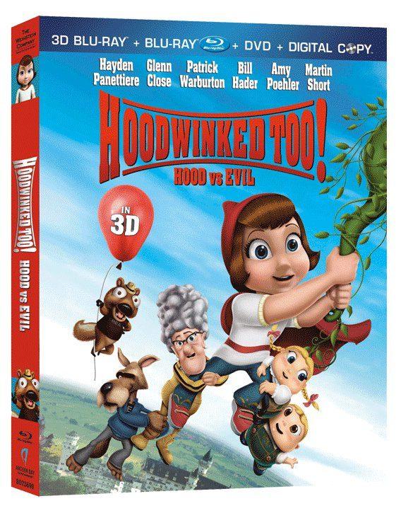 HOODWINKED TOO! Hood vs Evil on Blu-ray & DVD August 16th!