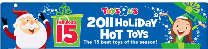 2011 Holiday Hot Toy List!