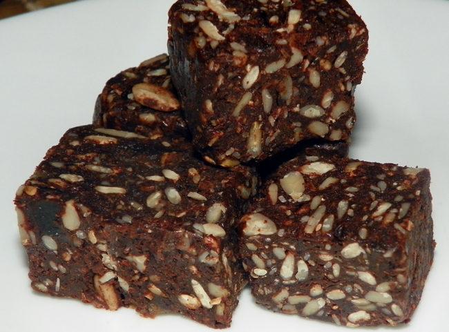 Raw Organic Cacao Goji Chunks – Need the Recipe!