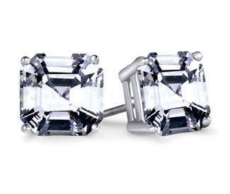 Asscher-Diamond-Stud-Earrings-Platinum_2