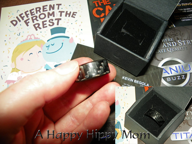 Titanium-Buzz Stunning Alternative Wedding Rings Review and Giveaway!