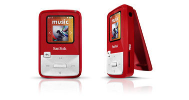 SanDisk Sansa Clip Zip MP3 Player Review & Giveaway!