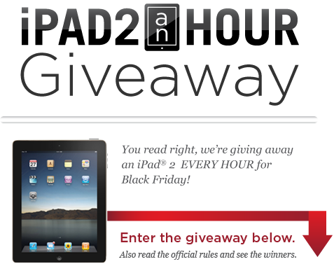 ZAGG iPad 2 an Hour Giveaway For Black Friday!