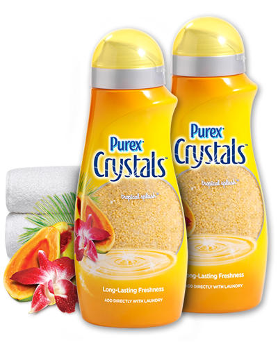 Find Purex Crystals Tropical Splash and automatically be entered to win $1,000!