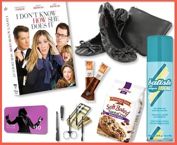 I DON'T KNOW HOW SHE DOES IT -Career Mom Kit Giveaway ($75 value)!