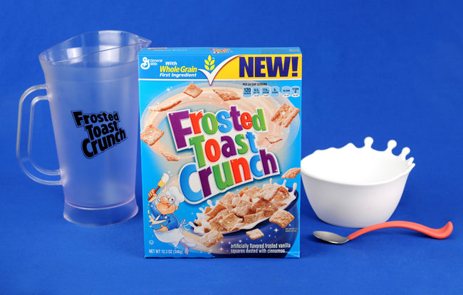 General Mills NEW Frosted Toast Crunch & Prize Pack Giveaway!