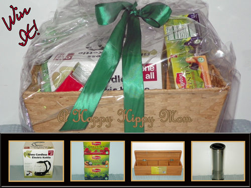 NEW Lipton Green Tea with Superfruit & Gift Basket Giveaway!
