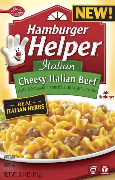 Cheesy Italian Beef