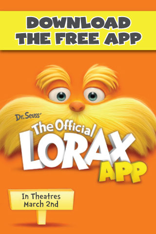 Speak For The Trees- FREE Official Lorax App for Android and iPhones